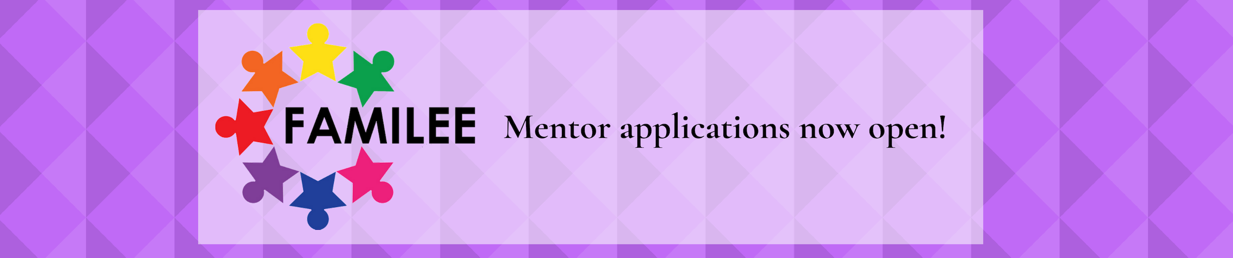 FAMILEE Mentor Applications are Now Open